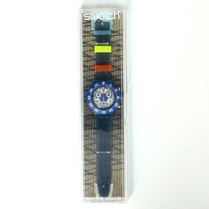 Swatch, Armbanduhr, Aqua Chrono - Big Blue