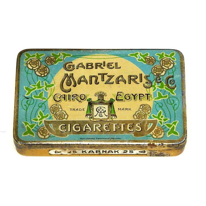 Gabriel Mantzaris & Co, Cigarettes, Cairo