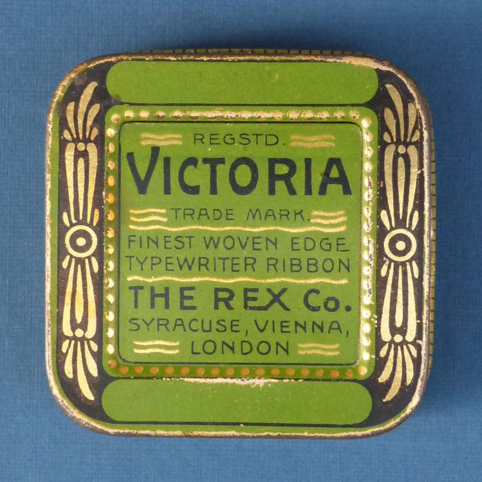 Victoria - The Rex Co., Farbbanddose
