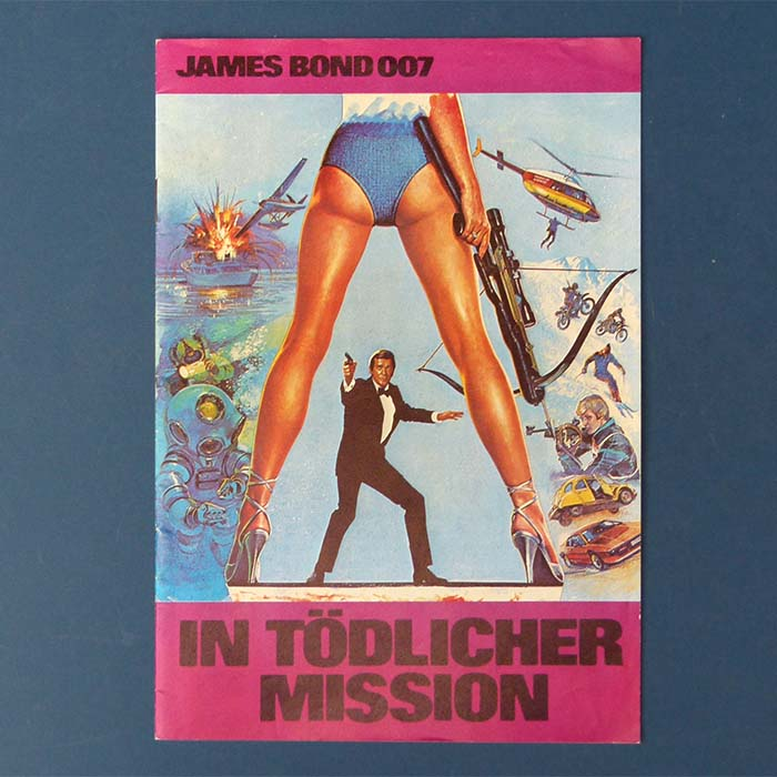 James Bond 007 - In tödlicher Mission, Filmprogramm
