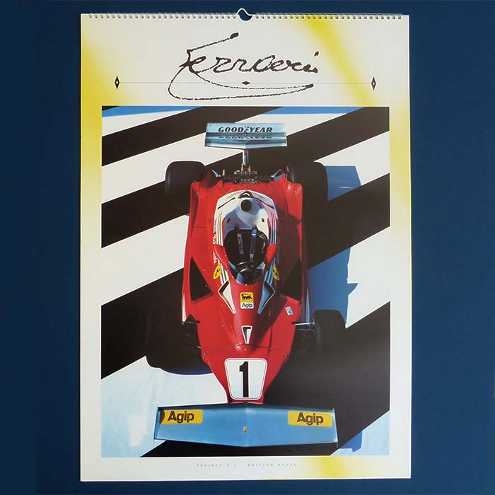 Ferrari Kalender, 1991, Limited Edition