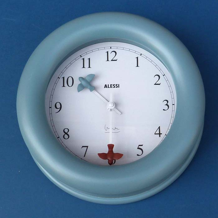 Alessi Kitchen clock, Wanduhr, Design, Italien
