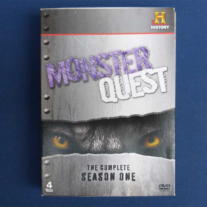 Monster Quest - The Complete Season One, 4 DVD