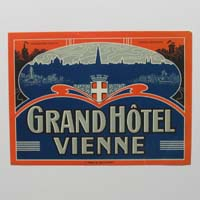 Grand Hotel Vienne, Wien, Hotel-Label