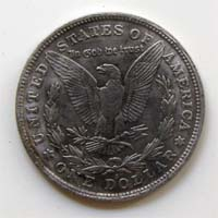 One Dollar, USA, 1884, S