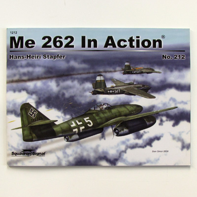 Me 262 in action, 1212 Squadron/Signal Productions