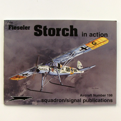 Fieseler Storch in action, Edition Aircraft 198