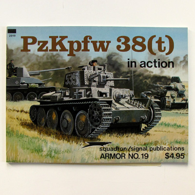 PzKpfw 38(t) in action, Edition Armor No. 19, 1979