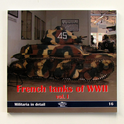 French tanks of WWII vol. I, Militaria in detail 16