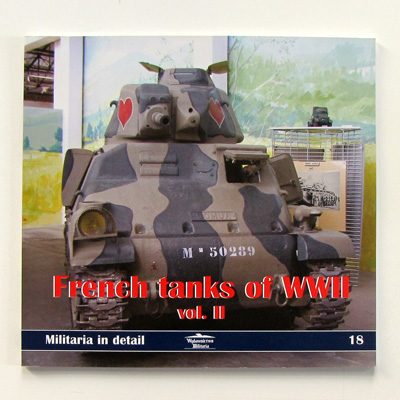 French tanks of WWII vol. II, Militaria in detail 18