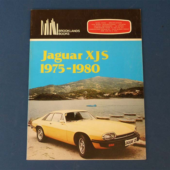 Jaguar XJS. 1975-1980, Brooklands Books