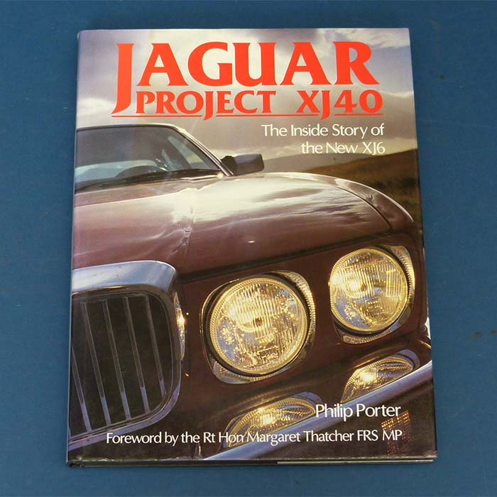Jaguar Project XJ40, Philip Porter, 1987