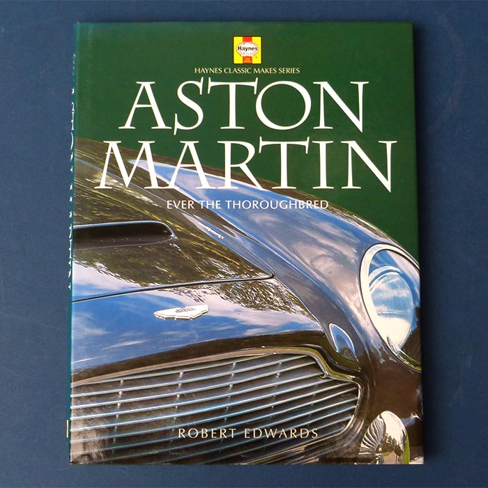 Aston Martin ever the Thoroughbred, Robert Edwards